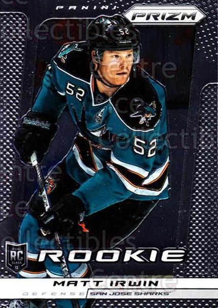 2013-14 Panini Prizm #278 Matt Irwin<br/>1 In Stock - $3.00 each - <a href=https://centericecollectibles.foxycart.com/cart?name=2013-14%20Panini%20Prizm%20%23278%20Matt%20Irwin...&quantity_max=1&price=$3.00&code=626361 class=foxycart> Buy it now! </a>