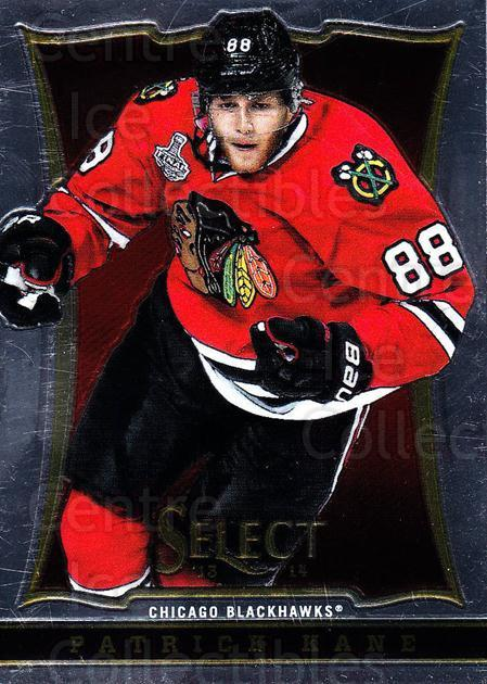 2013-14 Select #1 Patrick Kane<br/>4 In Stock - $3.00 each - <a href=https://centericecollectibles.foxycart.com/cart?name=2013-14%20Select%20%231%20Patrick%20Kane...&quantity_max=4&price=$3.00&code=626507 class=foxycart> Buy it now! </a>