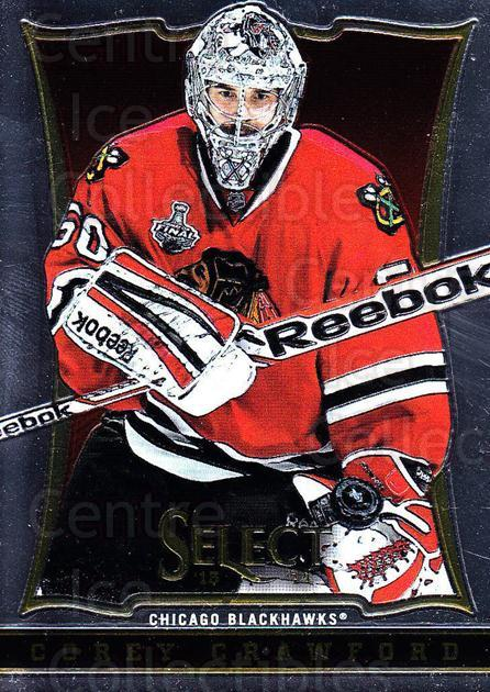 2013-14 Select #3 Corey Crawford<br/>5 In Stock - $1.00 each - <a href=https://centericecollectibles.foxycart.com/cart?name=2013-14%20Select%20%233%20Corey%20Crawford...&quantity_max=5&price=$1.00&code=626509 class=foxycart> Buy it now! </a>