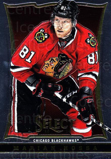 2013-14 Select #5 Marian Hossa<br/>5 In Stock - $1.00 each - <a href=https://centericecollectibles.foxycart.com/cart?name=2013-14%20Select%20%235%20Marian%20Hossa...&quantity_max=5&price=$1.00&code=626511 class=foxycart> Buy it now! </a>