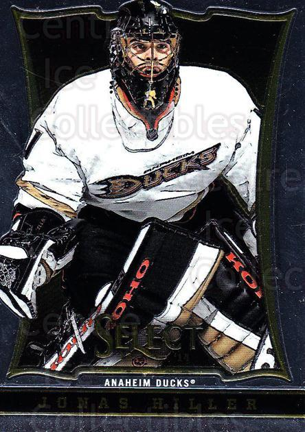 2013-14 Select #14 Jonas Hiller<br/>6 In Stock - $1.00 each - <a href=https://centericecollectibles.foxycart.com/cart?name=2013-14%20Select%20%2314%20Jonas%20Hiller...&quantity_max=6&price=$1.00&code=626520 class=foxycart> Buy it now! </a>