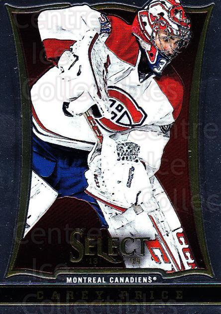2013-14 Select #17 Carey Price<br/>4 In Stock - $5.00 each - <a href=https://centericecollectibles.foxycart.com/cart?name=2013-14%20Select%20%2317%20Carey%20Price...&quantity_max=4&price=$5.00&code=626523 class=foxycart> Buy it now! </a>