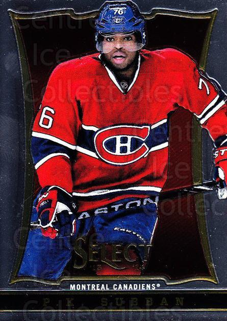 2013-14 Select #18 PK Subban<br/>5 In Stock - $1.00 each - <a href=https://centericecollectibles.foxycart.com/cart?name=2013-14%20Select%20%2318%20PK%20Subban...&quantity_max=5&price=$1.00&code=626524 class=foxycart> Buy it now! </a>
