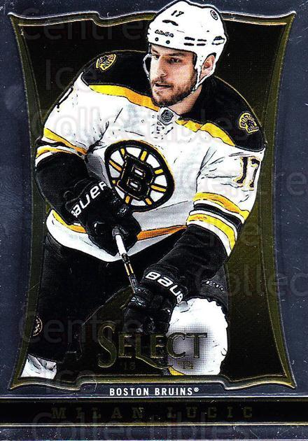 2013-14 Select #24 Milan Lucic<br/>6 In Stock - $1.00 each - <a href=https://centericecollectibles.foxycart.com/cart?name=2013-14%20Select%20%2324%20Milan%20Lucic...&quantity_max=6&price=$1.00&code=626530 class=foxycart> Buy it now! </a>