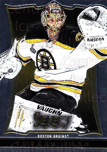 2013-14 Select #25 Tuukka Rask<br/>4 In Stock - $1.00 each - <a href=https://centericecollectibles.foxycart.com/cart?name=2013-14%20Select%20%2325%20Tuukka%20Rask...&quantity_max=4&price=$1.00&code=626531 class=foxycart> Buy it now! </a>