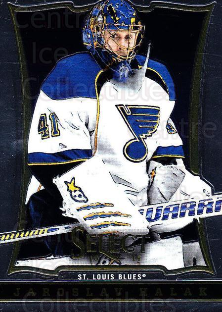 2013-14 Select #29 Jaroslav Halak<br/>5 In Stock - $1.00 each - <a href=https://centericecollectibles.foxycart.com/cart?name=2013-14%20Select%20%2329%20Jaroslav%20Halak...&quantity_max=5&price=$1.00&code=626535 class=foxycart> Buy it now! </a>