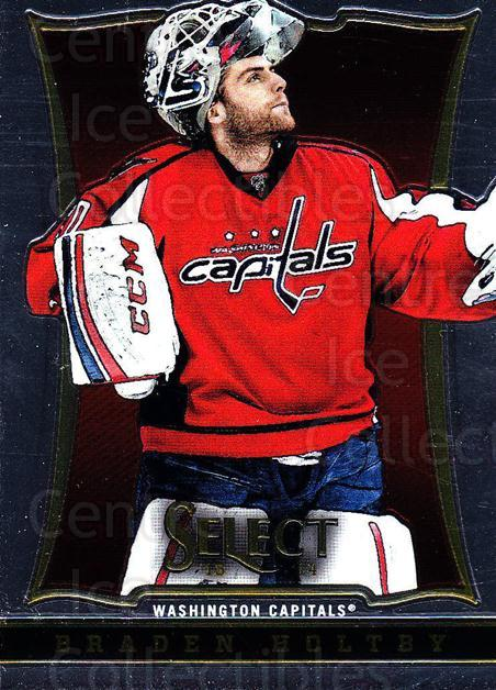 2013-14 Select #47 Braden Holtby<br/>6 In Stock - $1.00 each - <a href=https://centericecollectibles.foxycart.com/cart?name=2013-14%20Select%20%2347%20Braden%20Holtby...&quantity_max=6&price=$1.00&code=626553 class=foxycart> Buy it now! </a>