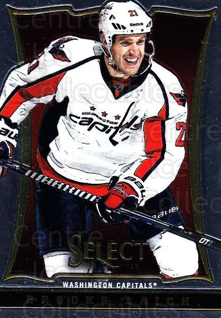 2013-14 Select #50 Brooks Laich<br/>6 In Stock - $1.00 each - <a href=https://centericecollectibles.foxycart.com/cart?name=2013-14%20Select%20%2350%20Brooks%20Laich...&quantity_max=6&price=$1.00&code=626556 class=foxycart> Buy it now! </a>