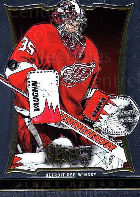 2013-14 Select #61 Jimmy Howard<br/>6 In Stock - $1.00 each - <a href=https://centericecollectibles.foxycart.com/cart?name=2013-14%20Select%20%2361%20Jimmy%20Howard...&quantity_max=6&price=$1.00&code=626567 class=foxycart> Buy it now! </a>