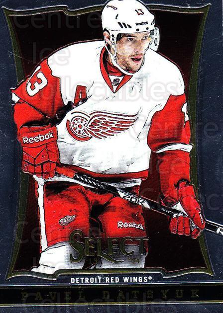 2013-14 Select #62 Pavel Datsyuk<br/>6 In Stock - $2.00 each - <a href=https://centericecollectibles.foxycart.com/cart?name=2013-14%20Select%20%2362%20Pavel%20Datsyuk...&quantity_max=6&price=$2.00&code=626568 class=foxycart> Buy it now! </a>