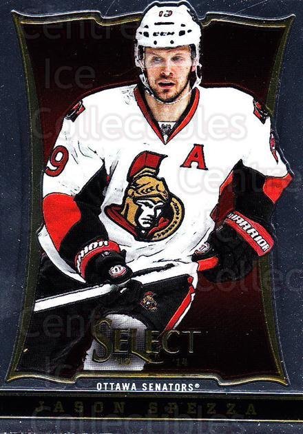 2013-14 Select #67 Jason Spezza<br/>4 In Stock - $1.00 each - <a href=https://centericecollectibles.foxycart.com/cart?name=2013-14%20Select%20%2367%20Jason%20Spezza...&quantity_max=4&price=$1.00&code=626573 class=foxycart> Buy it now! </a>