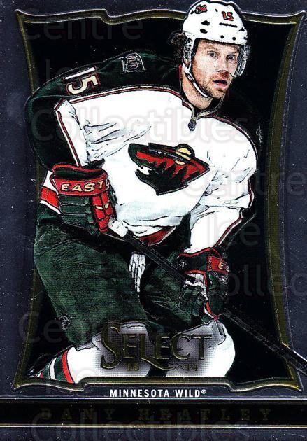 2013-14 Select #72 Dany Heatley<br/>5 In Stock - $1.00 each - <a href=https://centericecollectibles.foxycart.com/cart?name=2013-14%20Select%20%2372%20Dany%20Heatley...&quantity_max=5&price=$1.00&code=626578 class=foxycart> Buy it now! </a>