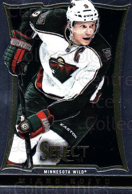2013-14 Select #73 Mikko Koivu<br/>4 In Stock - $1.00 each - <a href=https://centericecollectibles.foxycart.com/cart?name=2013-14%20Select%20%2373%20Mikko%20Koivu...&quantity_max=4&price=$1.00&code=626579 class=foxycart> Buy it now! </a>
