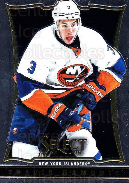 2013-14 Select #79 Travis Hamonic<br/>6 In Stock - $1.00 each - <a href=https://centericecollectibles.foxycart.com/cart?name=2013-14%20Select%20%2379%20Travis%20Hamonic...&quantity_max=6&price=$1.00&code=626585 class=foxycart> Buy it now! </a>