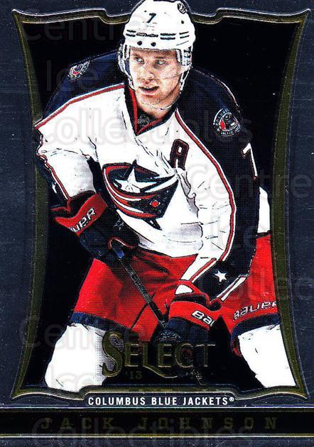 2013-14 Select #83 Jack Johnson<br/>6 In Stock - $1.00 each - <a href=https://centericecollectibles.foxycart.com/cart?name=2013-14%20Select%20%2383%20Jack%20Johnson...&quantity_max=6&price=$1.00&code=626589 class=foxycart> Buy it now! </a>