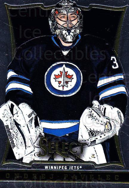 2013-14 Select #86 Ondrej Pavelec<br/>6 In Stock - $1.00 each - <a href=https://centericecollectibles.foxycart.com/cart?name=2013-14%20Select%20%2386%20Ondrej%20Pavelec...&quantity_max=6&price=$1.00&code=626592 class=foxycart> Buy it now! </a>