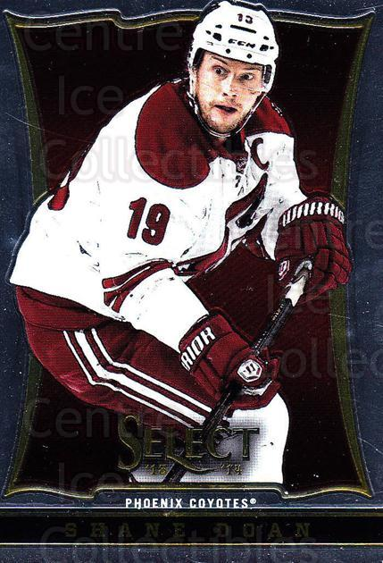 2013-14 Select #92 Shane Doan<br/>6 In Stock - $1.00 each - <a href=https://centericecollectibles.foxycart.com/cart?name=2013-14%20Select%20%2392%20Shane%20Doan...&quantity_max=6&price=$1.00&code=626598 class=foxycart> Buy it now! </a>