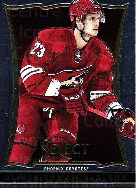 2013-14 Select #95 Oliver Ekman-Larsson<br/>5 In Stock - $1.00 each - <a href=https://centericecollectibles.foxycart.com/cart?name=2013-14%20Select%20%2395%20Oliver%20Ekman-La...&quantity_max=5&price=$1.00&code=626601 class=foxycart> Buy it now! </a>