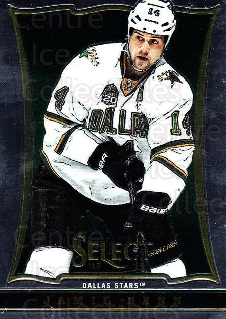 2013-14 Select #101 Jamie Benn<br/>6 In Stock - $1.00 each - <a href=https://centericecollectibles.foxycart.com/cart?name=2013-14%20Select%20%23101%20Jamie%20Benn...&quantity_max=6&price=$1.00&code=626607 class=foxycart> Buy it now! </a>