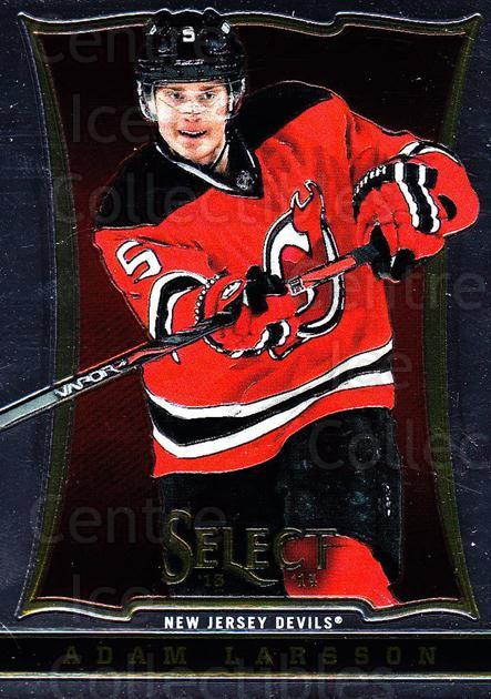2013-14 Select #107 Adam Larsson<br/>6 In Stock - $1.00 each - <a href=https://centericecollectibles.foxycart.com/cart?name=2013-14%20Select%20%23107%20Adam%20Larsson...&quantity_max=6&price=$1.00&code=626613 class=foxycart> Buy it now! </a>