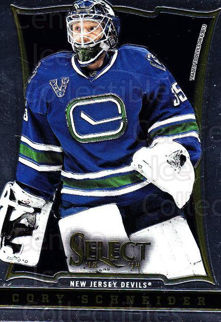 2013-14 Select #110 Cory Schneider<br/>6 In Stock - $1.00 each - <a href=https://centericecollectibles.foxycart.com/cart?name=2013-14%20Select%20%23110%20Cory%20Schneider...&quantity_max=6&price=$1.00&code=626616 class=foxycart> Buy it now! </a>