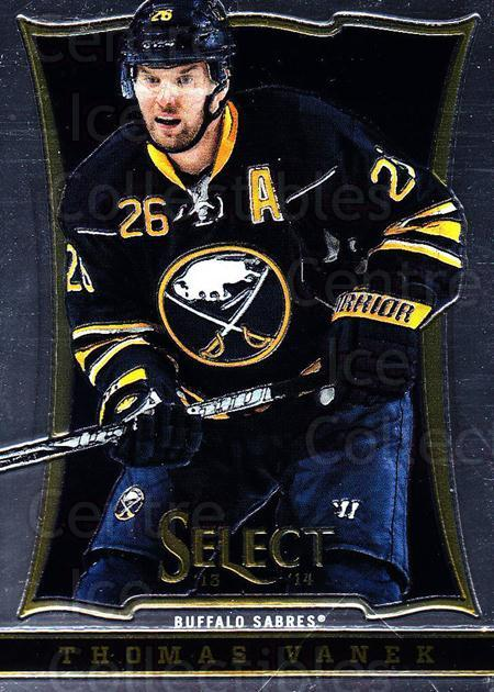 2013-14 Select #112 Thomas Vanek<br/>6 In Stock - $1.00 each - <a href=https://centericecollectibles.foxycart.com/cart?name=2013-14%20Select%20%23112%20Thomas%20Vanek...&quantity_max=6&price=$1.00&code=626618 class=foxycart> Buy it now! </a>