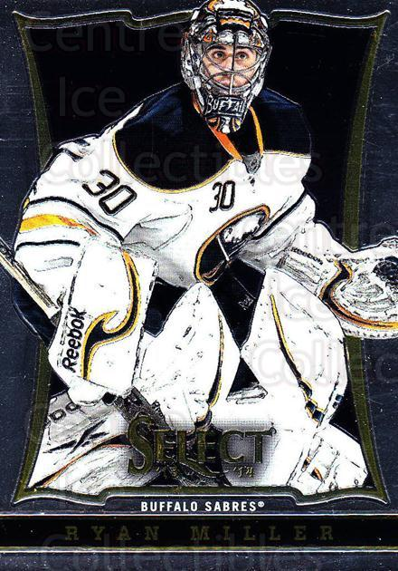 2013-14 Select #113 Ryan Miller<br/>5 In Stock - $1.00 each - <a href=https://centericecollectibles.foxycart.com/cart?name=2013-14%20Select%20%23113%20Ryan%20Miller...&quantity_max=5&price=$1.00&code=626619 class=foxycart> Buy it now! </a>