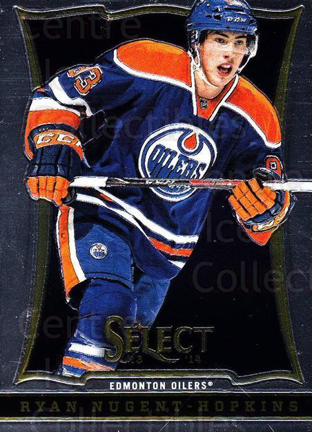 2013-14 Select #118 Ryan Nugent-Hopkins<br/>5 In Stock - $2.00 each - <a href=https://centericecollectibles.foxycart.com/cart?name=2013-14%20Select%20%23118%20Ryan%20Nugent-Hop...&quantity_max=5&price=$2.00&code=626624 class=foxycart> Buy it now! </a>