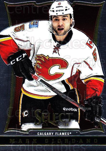 2013-14 Select #125 Mark Giordano<br/>6 In Stock - $1.00 each - <a href=https://centericecollectibles.foxycart.com/cart?name=2013-14%20Select%20%23125%20Mark%20Giordano...&quantity_max=6&price=$1.00&code=626631 class=foxycart> Buy it now! </a>