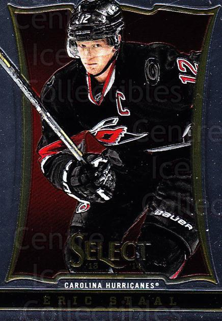2013-14 Select #127 Eric Staal<br/>6 In Stock - $1.00 each - <a href=https://centericecollectibles.foxycart.com/cart?name=2013-14%20Select%20%23127%20Eric%20Staal...&quantity_max=6&price=$1.00&code=626633 class=foxycart> Buy it now! </a>