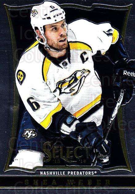 2013-14 Select #131 Shea Weber<br/>6 In Stock - $1.00 each - <a href=https://centericecollectibles.foxycart.com/cart?name=2013-14%20Select%20%23131%20Shea%20Weber...&quantity_max=6&price=$1.00&code=626637 class=foxycart> Buy it now! </a>