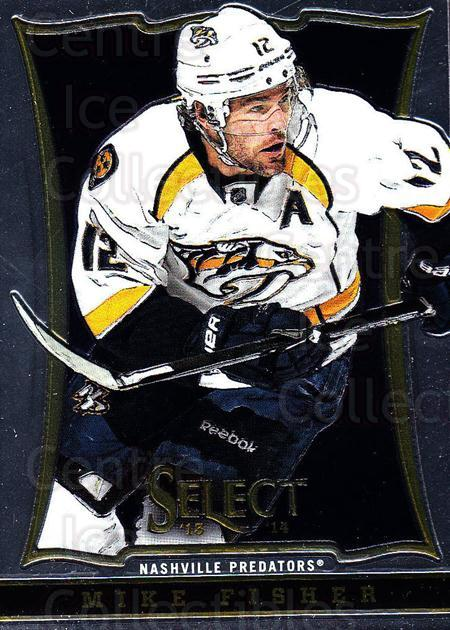 2013-14 Select #133 Mike Fisher<br/>5 In Stock - $1.00 each - <a href=https://centericecollectibles.foxycart.com/cart?name=2013-14%20Select%20%23133%20Mike%20Fisher...&quantity_max=5&price=$1.00&code=626639 class=foxycart> Buy it now! </a>