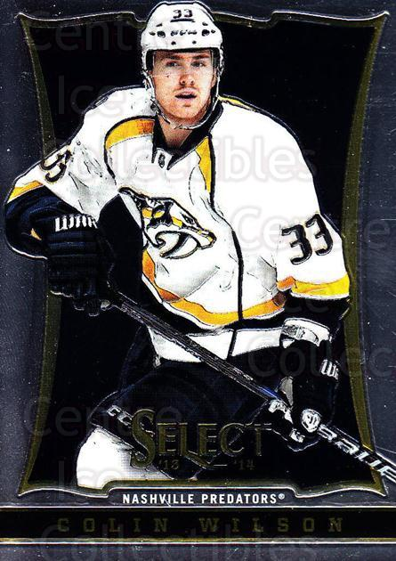 2013-14 Select #135 Colin Wilson<br/>6 In Stock - $1.00 each - <a href=https://centericecollectibles.foxycart.com/cart?name=2013-14%20Select%20%23135%20Colin%20Wilson...&quantity_max=6&price=$1.00&code=626641 class=foxycart> Buy it now! </a>