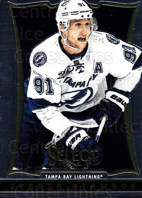 2013-14 Select #137 Steven Stamkos<br/>2 In Stock - $2.00 each - <a href=https://centericecollectibles.foxycart.com/cart?name=2013-14%20Select%20%23137%20Steven%20Stamkos...&price=$2.00&code=626643 class=foxycart> Buy it now! </a>