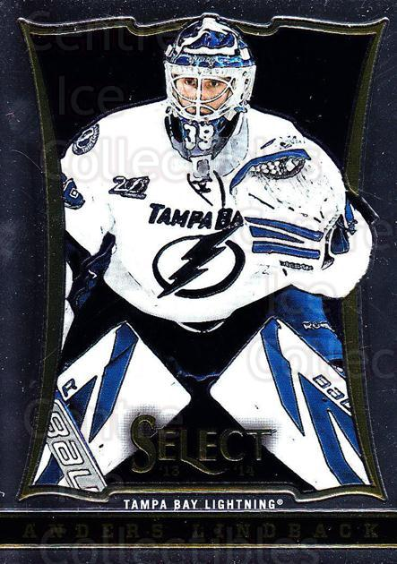 2013-14 Select #138 Anders Lindback<br/>5 In Stock - $1.00 each - <a href=https://centericecollectibles.foxycart.com/cart?name=2013-14%20Select%20%23138%20Anders%20Lindback...&quantity_max=5&price=$1.00&code=626644 class=foxycart> Buy it now! </a>