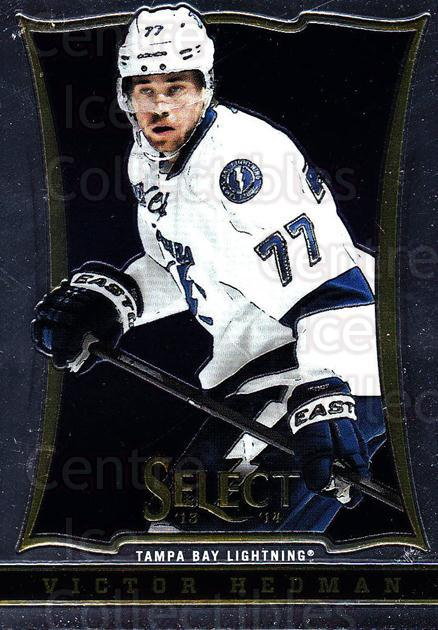 2013-14 Select #139 Victor Hedman<br/>5 In Stock - $1.00 each - <a href=https://centericecollectibles.foxycart.com/cart?name=2013-14%20Select%20%23139%20Victor%20Hedman...&quantity_max=5&price=$1.00&code=626645 class=foxycart> Buy it now! </a>