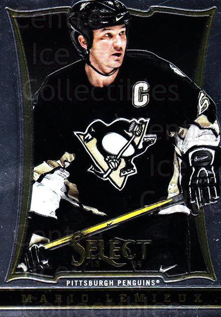 2013-14 Select #151 Mario Lemieux<br/>6 In Stock - $3.00 each - <a href=https://centericecollectibles.foxycart.com/cart?name=2013-14%20Select%20%23151%20Mario%20Lemieux...&quantity_max=6&price=$3.00&code=626657 class=foxycart> Buy it now! </a>