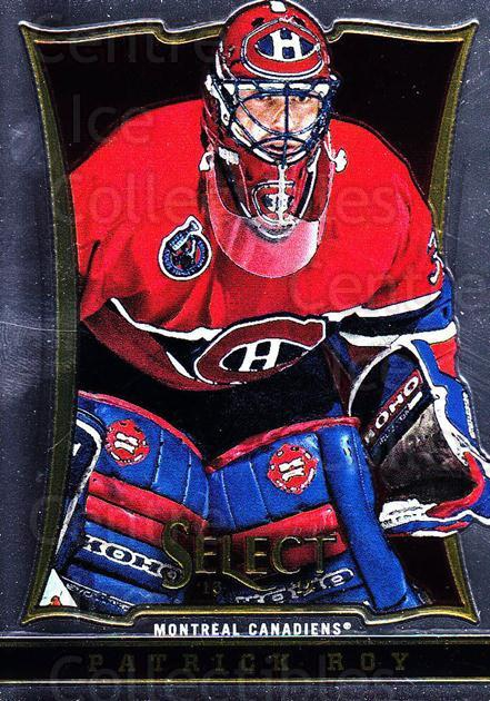 2013-14 Select #156 Patrick Roy<br/>5 In Stock - $5.00 each - <a href=https://centericecollectibles.foxycart.com/cart?name=2013-14%20Select%20%23156%20Patrick%20Roy...&quantity_max=5&price=$5.00&code=626662 class=foxycart> Buy it now! </a>