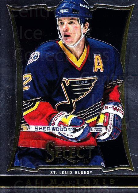 2013-14 Select #159 Al MacInnis<br/>6 In Stock - $1.00 each - <a href=https://centericecollectibles.foxycart.com/cart?name=2013-14%20Select%20%23159%20Al%20MacInnis...&quantity_max=6&price=$1.00&code=626665 class=foxycart> Buy it now! </a>