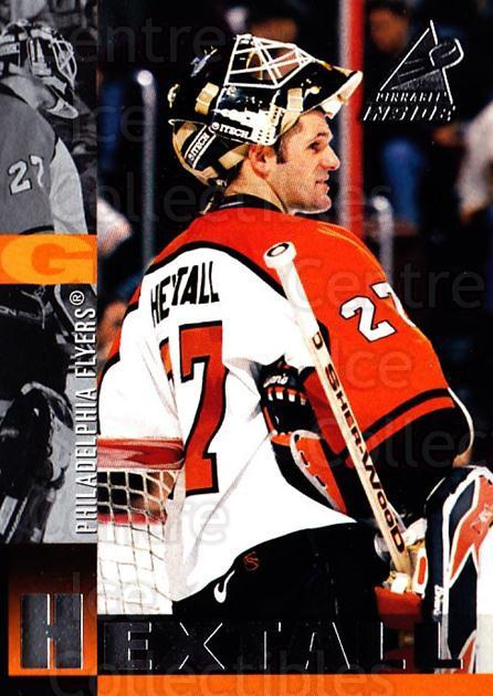 1997-98 Pinnacle Inside #22 Ron Hextall<br/>5 In Stock - $1.00 each - <a href=https://centericecollectibles.foxycart.com/cart?name=1997-98%20Pinnacle%20Inside%20%2322%20Ron%20Hextall...&quantity_max=5&price=$1.00&code=62807 class=foxycart> Buy it now! </a>