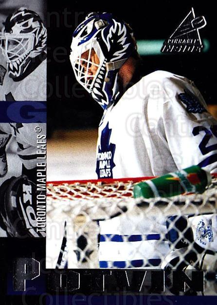 1997-98 Pinnacle Inside #46 Felix Potvin<br/>3 In Stock - $1.00 each - <a href=https://centericecollectibles.foxycart.com/cart?name=1997-98%20Pinnacle%20Inside%20%2346%20Felix%20Potvin...&quantity_max=3&price=$1.00&code=62829 class=foxycart> Buy it now! </a>
