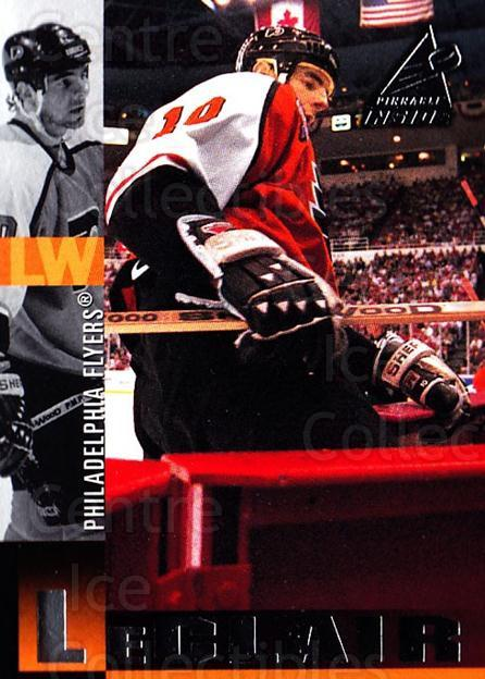 1997-98 Pinnacle Inside #58 John LeClair<br/>6 In Stock - $1.00 each - <a href=https://centericecollectibles.foxycart.com/cart?name=1997-98%20Pinnacle%20Inside%20%2358%20John%20LeClair...&quantity_max=6&price=$1.00&code=62840 class=foxycart> Buy it now! </a>