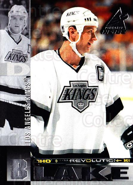 1997-98 Pinnacle Inside #71 Rob Blake<br/>6 In Stock - $1.00 each - <a href=https://centericecollectibles.foxycart.com/cart?name=1997-98%20Pinnacle%20Inside%20%2371%20Rob%20Blake...&quantity_max=6&price=$1.00&code=62852 class=foxycart> Buy it now! </a>