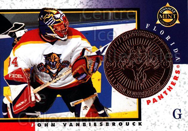 1997-98 Pinnacle Mint Bronze #4 John Vanbiesbrouck<br/>6 In Stock - $2.00 each - <a href=https://centericecollectibles.foxycart.com/cart?name=1997-98%20Pinnacle%20Mint%20Bronze%20%234%20John%20Vanbiesbro...&quantity_max=6&price=$2.00&code=62874 class=foxycart> Buy it now! </a>