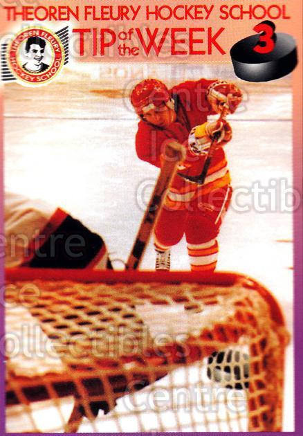 1995-96 Theoren Fleury Hockey School #3 Theo Fleury<br/>2 In Stock - $2.00 each - <a href=https://centericecollectibles.foxycart.com/cart?name=1995-96%20Theoren%20Fleury%20Hockey%20School%20%233%20Theo%20Fleury...&quantity_max=2&price=$2.00&code=629962 class=foxycart> Buy it now! </a>