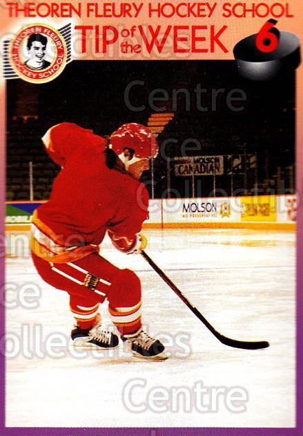 1995-96 Theoren Fleury Hockey School #6 Theo Fleury<br/>2 In Stock - $2.00 each - <a href=https://centericecollectibles.foxycart.com/cart?name=1995-96%20Theoren%20Fleury%20Hockey%20School%20%236%20Theo%20Fleury...&quantity_max=2&price=$2.00&code=629965 class=foxycart> Buy it now! </a>