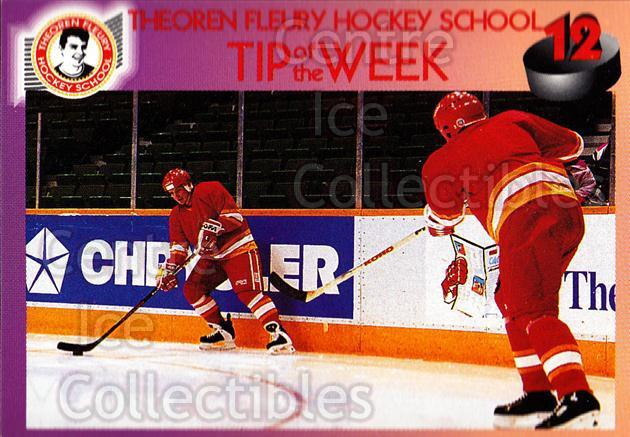 1995-96 Theoren Fleury Hockey School #12 Theo Fleury<br/>2 In Stock - $2.00 each - <a href=https://centericecollectibles.foxycart.com/cart?name=1995-96%20Theoren%20Fleury%20Hockey%20School%20%2312%20Theo%20Fleury...&quantity_max=2&price=$2.00&code=629971 class=foxycart> Buy it now! </a>