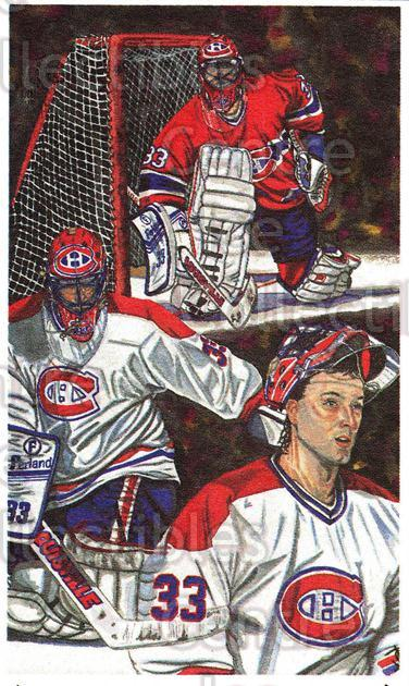 1992 John McLean Promo Set A #3 Patrick Roy<br/>1 In Stock - $3.00 each - <a href=https://centericecollectibles.foxycart.com/cart?name=1992%20John%20McLean%20Promo%20Set%20A%20%233%20Patrick%20Roy...&price=$3.00&code=630446 class=foxycart> Buy it now! </a>