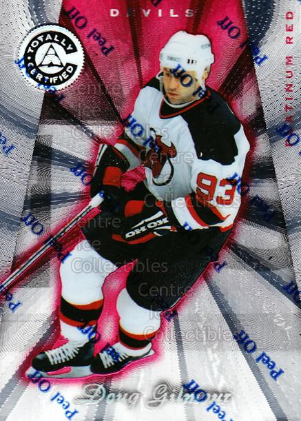 1997-98 Pinnacle Totally Certified Platinum Red #51 Doug Gilmour<br/>4 In Stock - $2.00 each - <a href=https://centericecollectibles.foxycart.com/cart?name=1997-98%20Pinnacle%20Totally%20Certified%20Platinum%20Red%20%2351%20Doug%20Gilmour...&quantity_max=4&price=$2.00&code=63060 class=foxycart> Buy it now! </a>