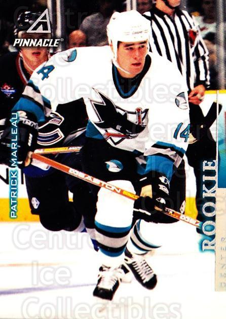 1997-98 Pinnacle #12 Patrick Marleau<br/>4 In Stock - $1.00 each - <a href=https://centericecollectibles.foxycart.com/cart?name=1997-98%20Pinnacle%20%2312%20Patrick%20Marleau...&quantity_max=4&price=$1.00&code=63127 class=foxycart> Buy it now! </a>